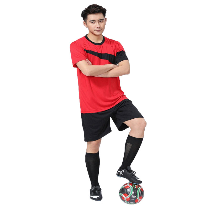 Hot Sale Thai Quality 2016 2017 Men Soccer Jerseys New Arrival Football Shirts Quick Dry Sport Training Soccer Uniforms(China (Mainland))