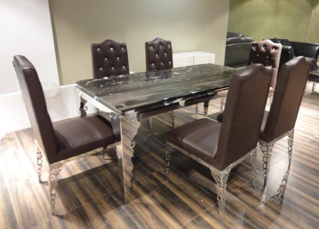 Acheter table de salle manger ensemble for Chaise de salle a manger de luxe