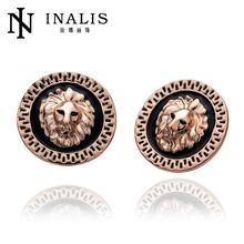 E963 New Band Fashion 18K Gold Plated Stud Earrings For Women Vintage Indian Jewelry Party brincos pendientes orecchini bijoux(China (Mainland))