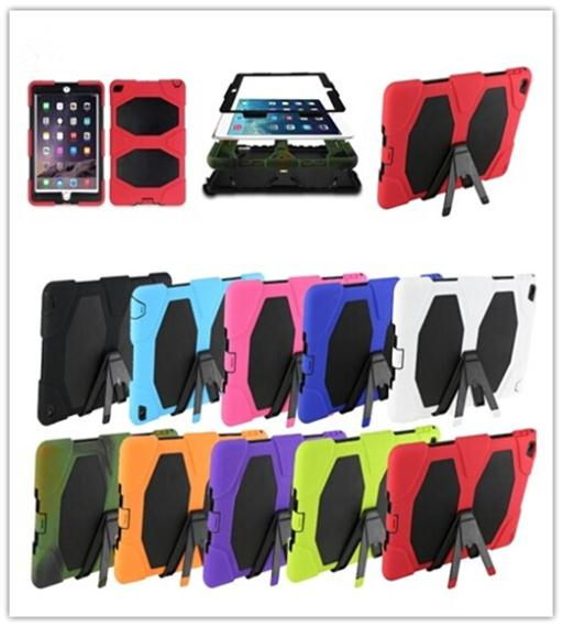 Case Apple iPad 2 3 4 9.7 inch Tough Armor Extreme Duty Military Waterproof Shockproof Protective Cover Stand - Fashion Store( store)