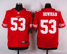 San Francisco 49ers #21 Deion Sanders #16 Joe Montana #7 Colin Kaepernick Elite White Black and Red Team Color free shipping(China (Mainland))