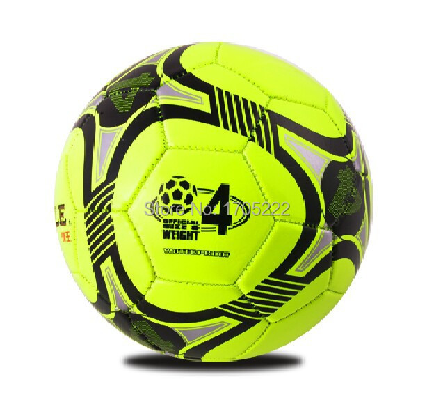 100% Brand New Original HIGHTOP Official Soccer Ball Size 4 Laminated Futsal Ball Indoor Football Ball Match For Futsal Or Hall(China (Mainland))