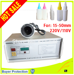 Free Shipping Induction Aluminum Foil Sealing Equipment Hand held induction sealing machine F300 indution sealer machine 15-50mm(China (Mainland))