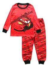 New 2016 children's winter clothing sets red fashion pajamas kids girls clothes sets baby boy sleepwear