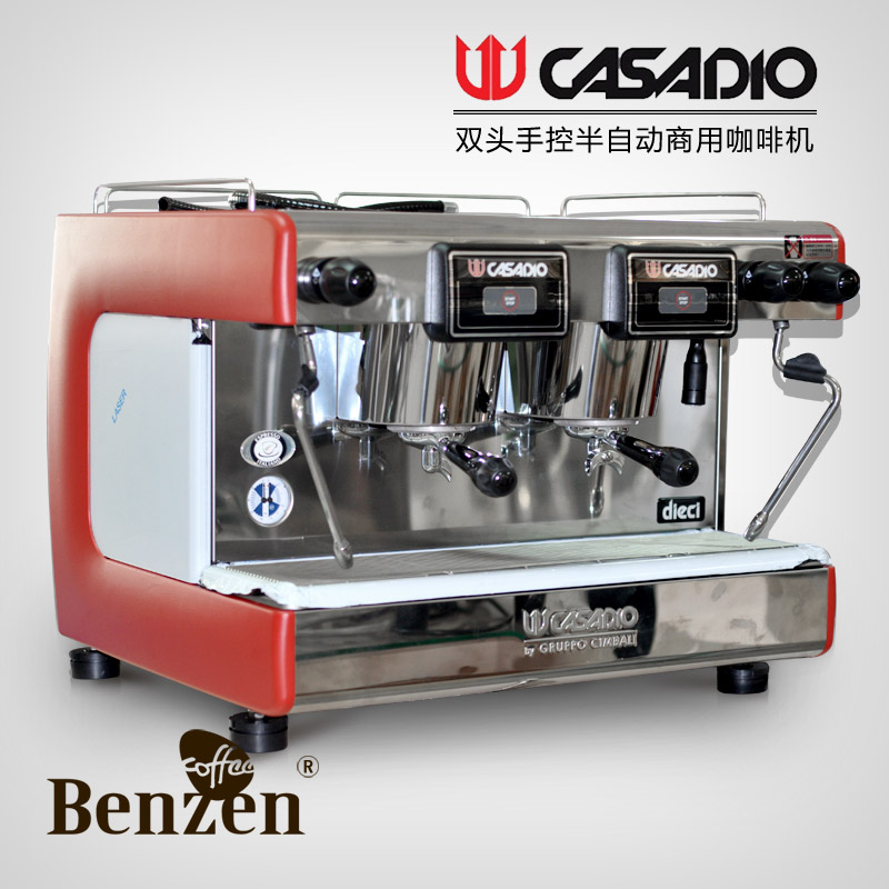 espresso machine semi automatic commercial coffee machine casadio dieci s2 double slider. Black Bedroom Furniture Sets. Home Design Ideas