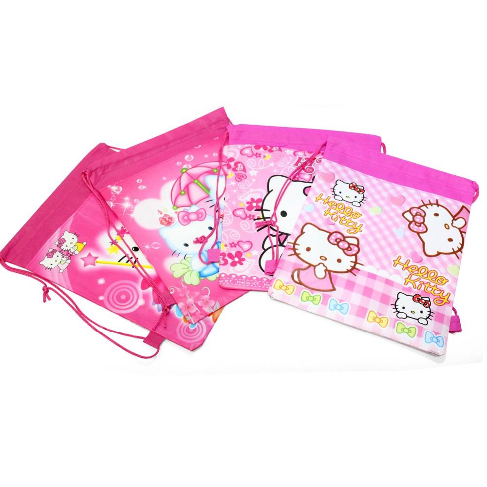 2015 new hello kitty backpack school bags for girls lovely