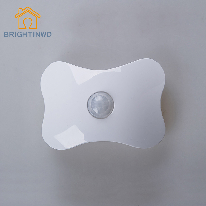 2016Newly Modern Wall Night Light&Butterfly Human Body Induction Lamp for Your Home and Your Dorm Convenient Night Lamp Lighting(China (Mainland))