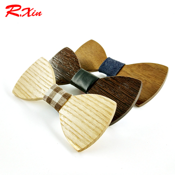 2016 Geometric Design Adult Wood Bow Ties Hardwood Handmade Personality Accessory Ties For Men Butterfly Gravata Wooden Bow tie