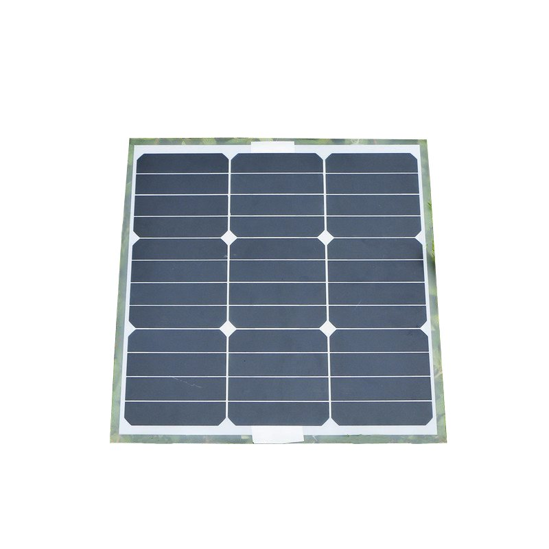 Universal Elfeland 30W 18V Mono Solar Panel Aluminum Plate Monocrystalline Pro for Battery Charger Caravan Outdoor+Sunpower Chip(China (Mainland))