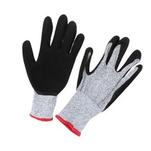 One Pair Stainless Steel Metal Mesh Working Protective Gloves Cut-resistant Anti Abrasion Safety Gloves Cut Resistant Level 5(China (Mainland))