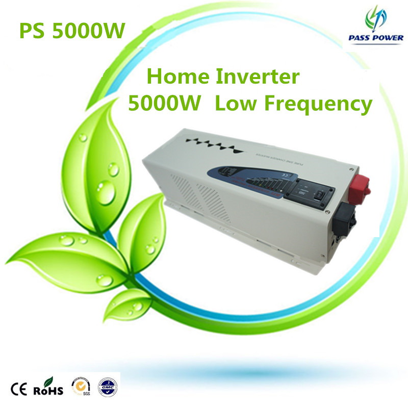2016 Factory Selling Off Grid Inverter Pure Sine Wave 5000W Low Frequency Home Inverter(China (Mainland))
