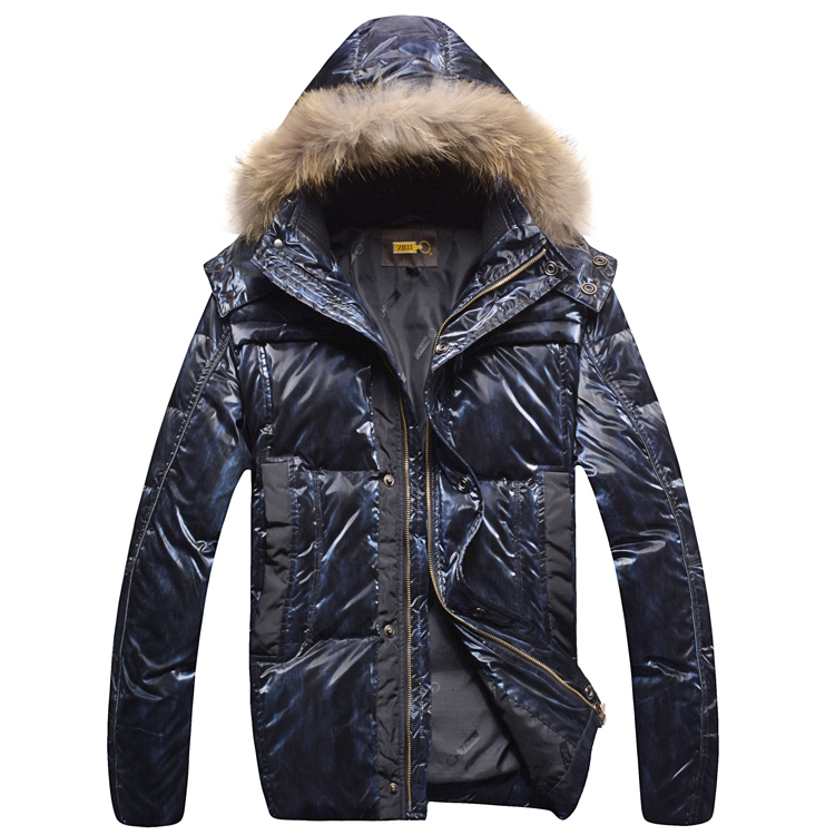 Zil i down jacket coat outerwear mens clothing 2015 fashionable casual comfortable brief male hooded thermal free shippingОдежда и ак�е��уары<br><br><br>Aliexpress