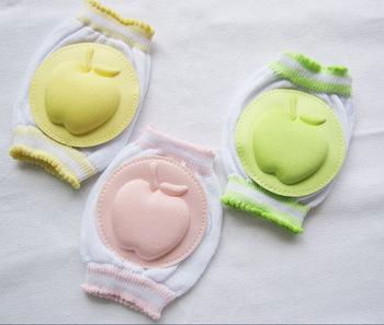 1 пар симпатичные яблоко форма детские наколенники, дети младенческой колено ноги ...