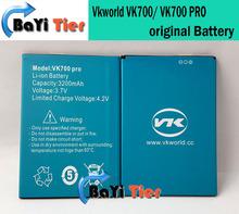 Vkworld VK700 аккумулятор 100% оригинальные замена 3200 мАч литий-ионные аккумулятор резервного копирования для Vkworld VK700 PRO смартфон + в наличии