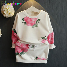 Buy 2PCS/2-6Years/Spring Autumn Korean Kids Clothes Flowers Fashion T-shirt+Skirt Baby Girls Outfit Children Clothing Sets BC1348 for $13.90 in AliExpress store