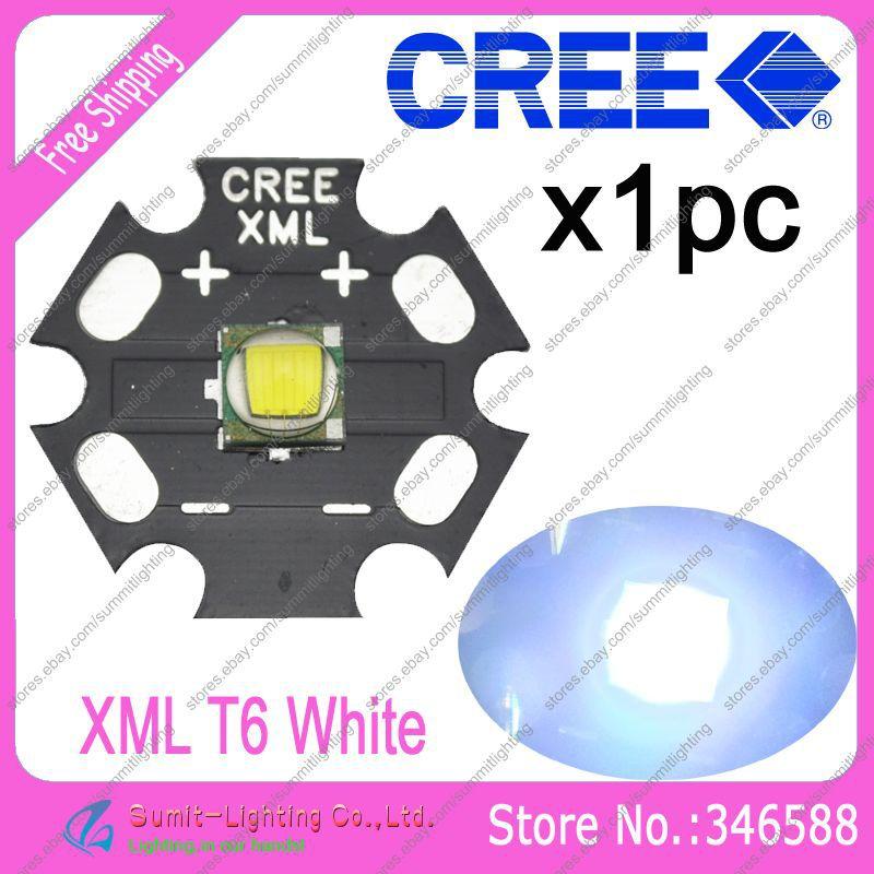 Светодиод CREE XLamp XML XML/t6 10W 20 Platine XM-L T6 sitemap 215 xml