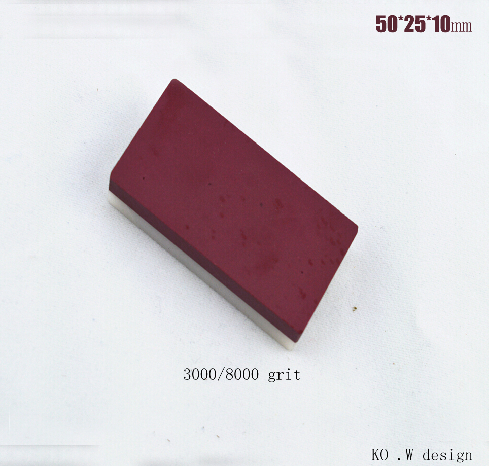 (Polishing) natural gem/ruby Oilstone knives knife sharpener Oil/water whetstone 50*25*10mm grinder stone 3000/8000#<br><br>Aliexpress