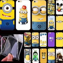 Горячая продается funy комикс чехол гадкий я желтый миньон чехол для apple iphone 5 iphone 5S iphone5s телефон чехол раковина одн ere qet