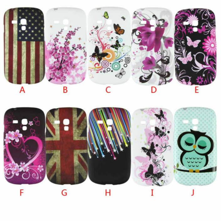 Delicate Fashion Design Soft TPU Back Case Cover For Samsung Galaxy S3 Mini I8190 hot selling(China (Mainland))