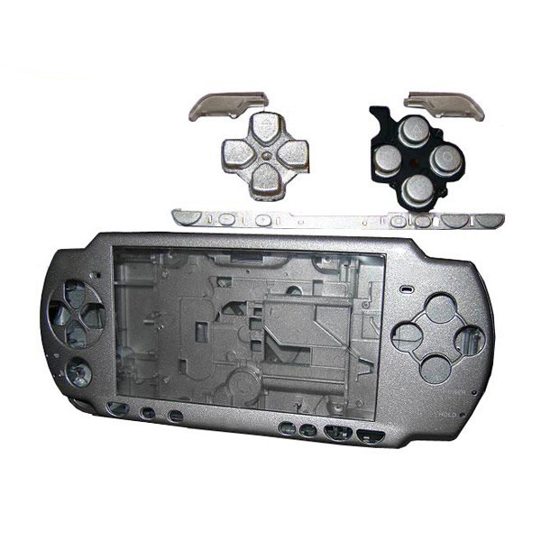 Silver High Quality Full Housing Shell Faceplate Case Part Replacement for Sony PSP 2000<br><br>Aliexpress