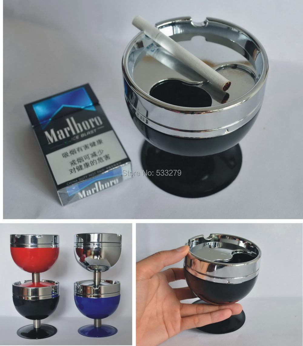 Sp\uper metal Portable ASHTRAY for men ,outdoor ashtray,smokeless ashtray for women ,home smokeless ashtray ,Free shipping(China (Mainland))