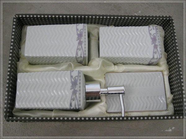 mixer antique Luxury fashion modern special designed 4pcs porcelain bathroom accessory Soap dispenser b8328 steel laundry tub(China (Mainland))