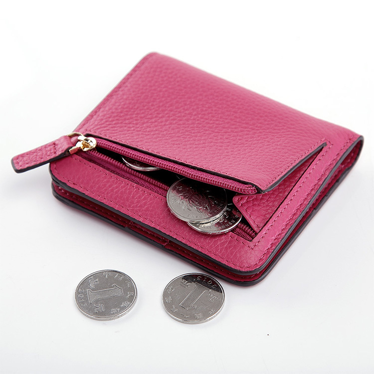 teemzone lady lovely fashion sense genuine leather bifold wallet passcase hipster credit card coin holder clutch purse