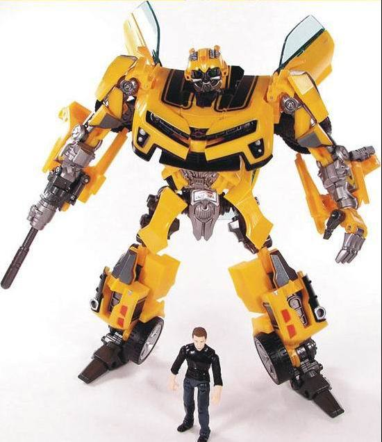 Revenge of the Fallen Human Alliance Movie Robots Bumblebee+Sam Action Figures Brand New Low Price Toys For Children Without Box(China (Mainland))