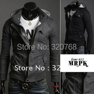 coats men outwear Mens Special Hoodie Jacket Coat clothes cardigan style jacket - Hangzhou manufacturers selling store