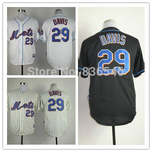 FREE SHIPPING new brand Mets #29 Ike Davis baseball jersey Embroidery Logo Cool Base Stitched Jersey(China (Mainland))