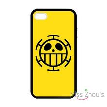 For iphone 4/4s 5/5s 5c SE 6/6s plus ipod touch 4/5/6 back skins mobile cellphone cases cover One Piece Trafalgar