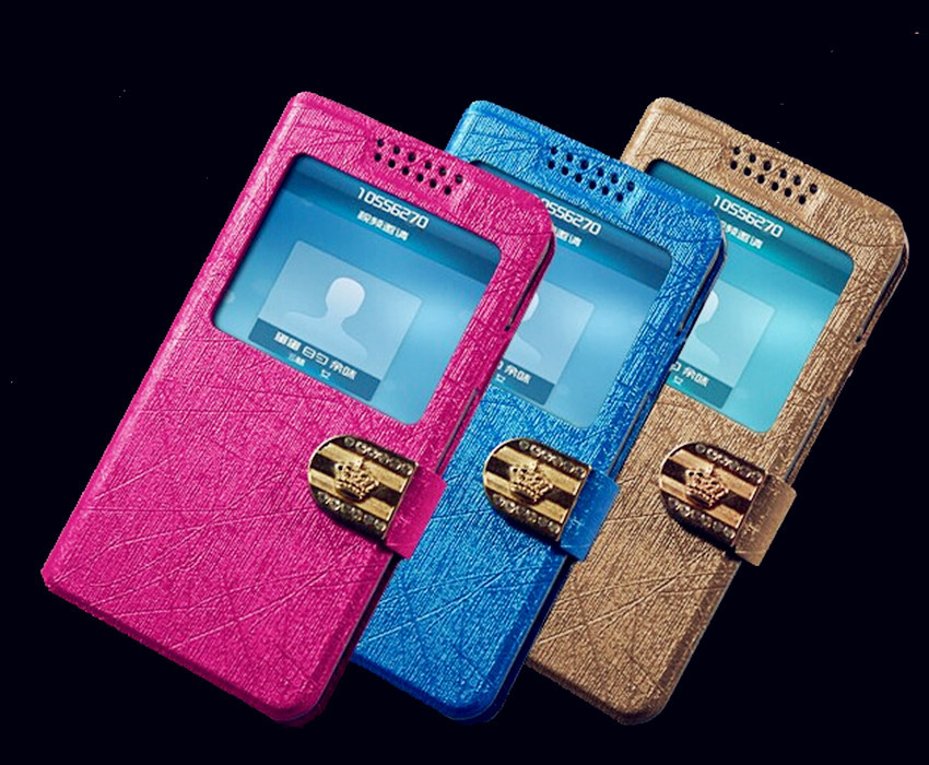 2015 Hot Phone Case For Samsung Galaxy S3 support View Window and bracket function mobile phone covers 7 colors(China (Mainland))