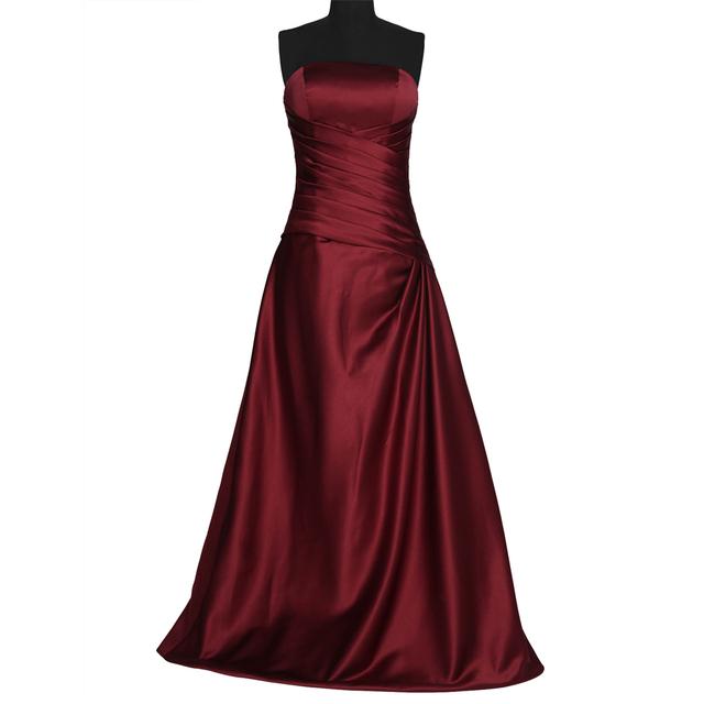 Грейс Карин Real Photo Атласная Sexy Длинное Вечернее Платье Красный Синий знаменитости ...