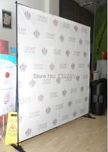 5ft-8ft Trade show Adjustable Backdrop Display Stand for backdrop advertising and exhibition BST6-9(China (Mainland))