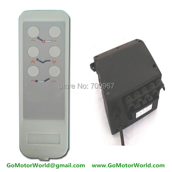New control box control system 110 240v ac input 12 or 24v for Electric motor control box