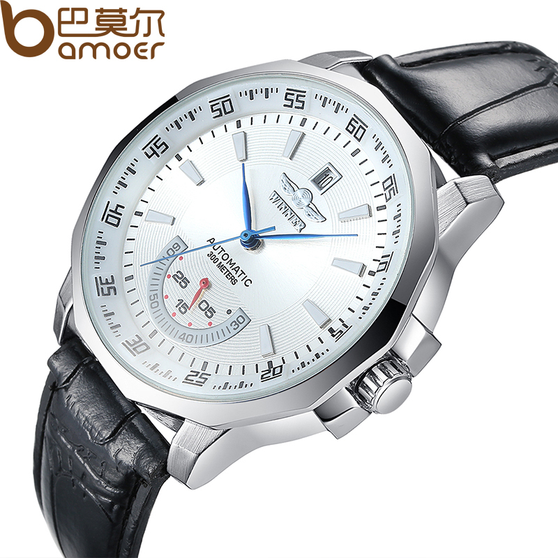 Hot luxury Brand Winner Automatic Mechanical Wristwatch Sport Military Leather Stainless Steel Skeleton Watch Clock ZBG5006(China (Mainland))
