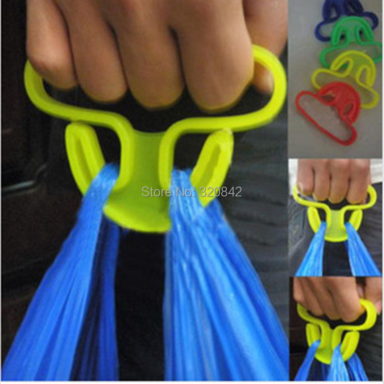 Bag carrier Household goods Trip Grips High Strength solid Shopping Grocery Bag Holder Handle Carrier Bag Tools(15KG)(China (Mainland))