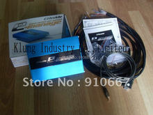 fuel controller ,piggyback ECU for turbo blue version with wires, installation manual and CD.(China (Mainland))