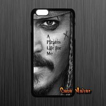 Pirates of the Caribbean Jack captain Caes Cover For Samsung Galaxy 2015 2016 J1 J2 J3 J5 J7 A3 A5 A7 A8 A9 Pro(China (Mainland))