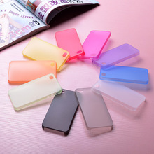 0.29mm Ultra thin matte Case cover skin for iPhone 5 5S Translucent slim Soft plastic Free Shipping Cellphone Phone case