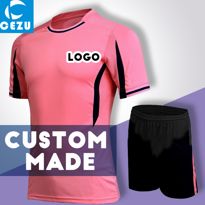 2016 2017 Mens Custom Soccer Jerseys Youth Soccer Team Uniforms Printing Logo Number Futebol Training Sets Football Jerseys(China (Mainland))