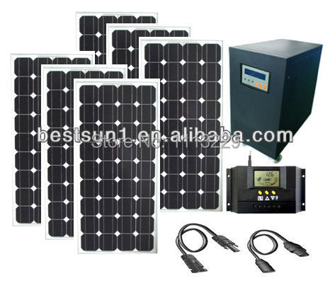 solar batteries 3000 w solar power product and battery pack,off grid solar inverter/solar power system pure sine wave inverter(China (Mainland))