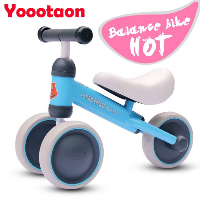 HOT Brand Children Balance Bikes Scooter Baby Walker Infant 1-3years Scooter without Foot Pedal Driving Bike Gift for Infant(China (Mainland))