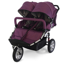 Promotional Price Twins Toddler Pram,Twins Baby Stroller Double,Big Three Wheels Luxury Double Baby Stroller,Good Service Seller(China (Mainland))