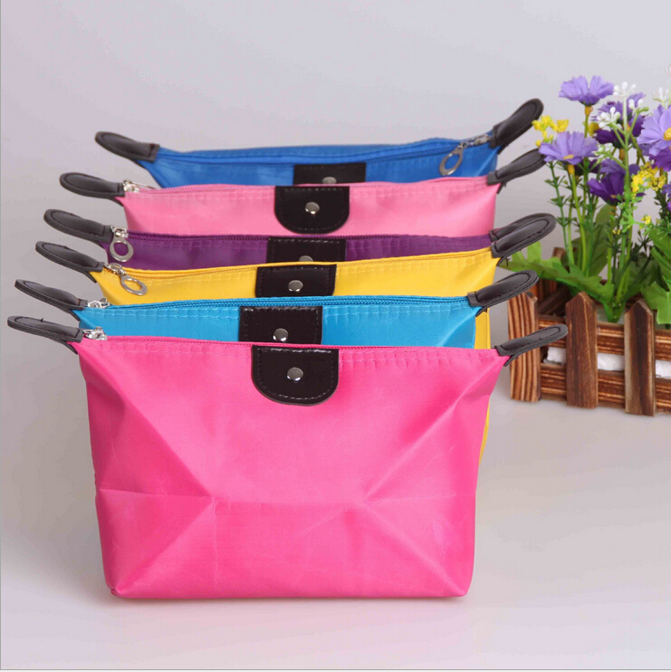 10 color Woman Multi-colors Fashion Lady Travel Cosmetic Pouch Bag Clutch Storage Makeup X02  -  Hongye cosmetic shop store