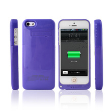 Promotion Power Case for iPhone 5 5S Battery Case,2200mah Extended External Battery for iPhone 5 5S Blue Purple Green