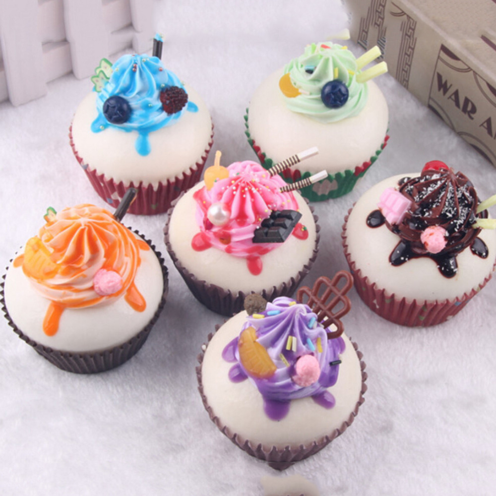 Online get cheap fake cake decorating for Artificial bread decoration