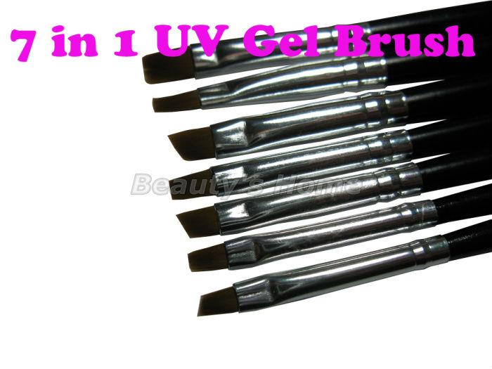 7 1 Nail print pen Acrylic Brush Kit Art Set UV gel brush art,7 sizes ,,0862 - Packing Supplier(Bottles and Jars store)