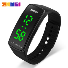 SKMEI Digital Watch Led Sport Watch For Men Women Dress Casual Silicone Watch S SHOCK Wristwatch 5 Color Relogio Digital