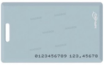 125KHz rfid EM ID Thick Time Attendance Card Access Control System card RFID Card(China (Mainland))